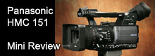 Panasonic HMC151 AVCHD camera review